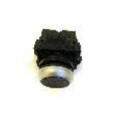 Кнопка 1-о контактная черная Werther-OMA